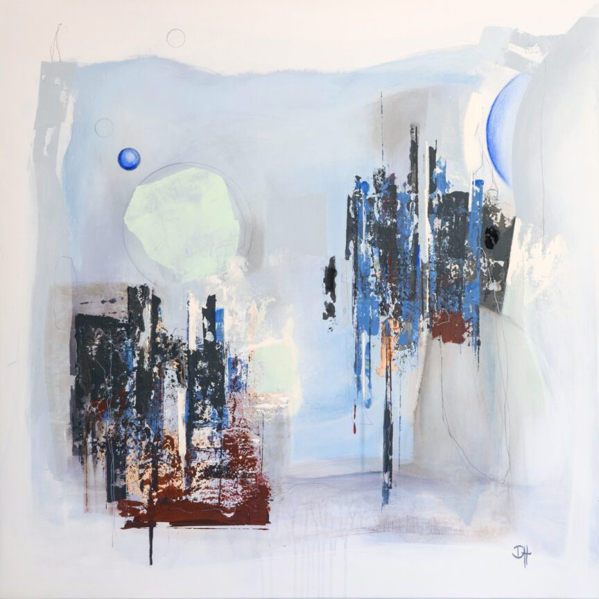 SOYALA | Acryl on canvas | 90x90cm | 2021
