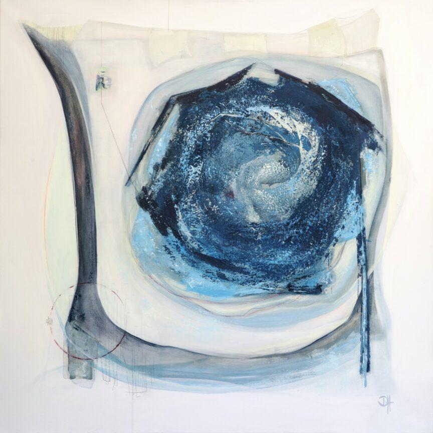 SOURCES I | Acryl on canvas | 110x110cm | 2021